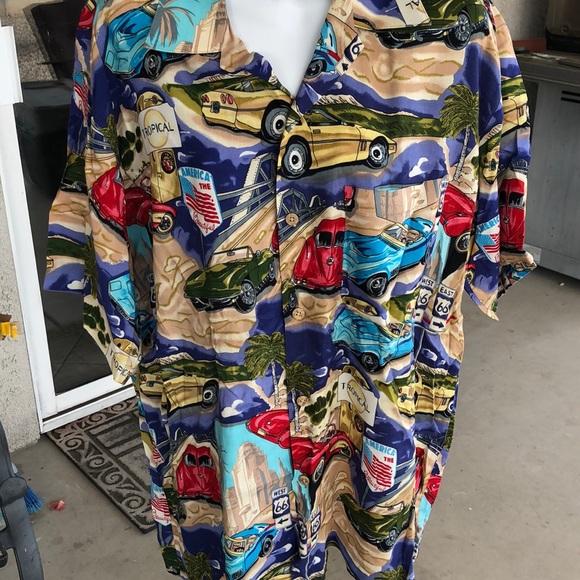 island collection Other - Island Collection men's sz medium Hawaiian shirt